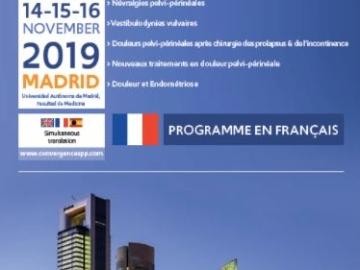 Congrès Convergences in Pelviperineal Pain 2019 en Espagne Présidé par le Dr E. Bautrant 1