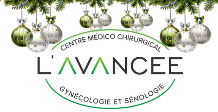 Le Centre L'AVANCEE et son Centre de Recherche en Santé de la Femme vous souhaitent de bonnes fêtes.