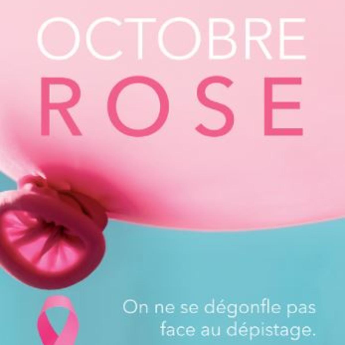 Tous sensibilisés au dépistage du cancer du sein : Octobre rose 2020