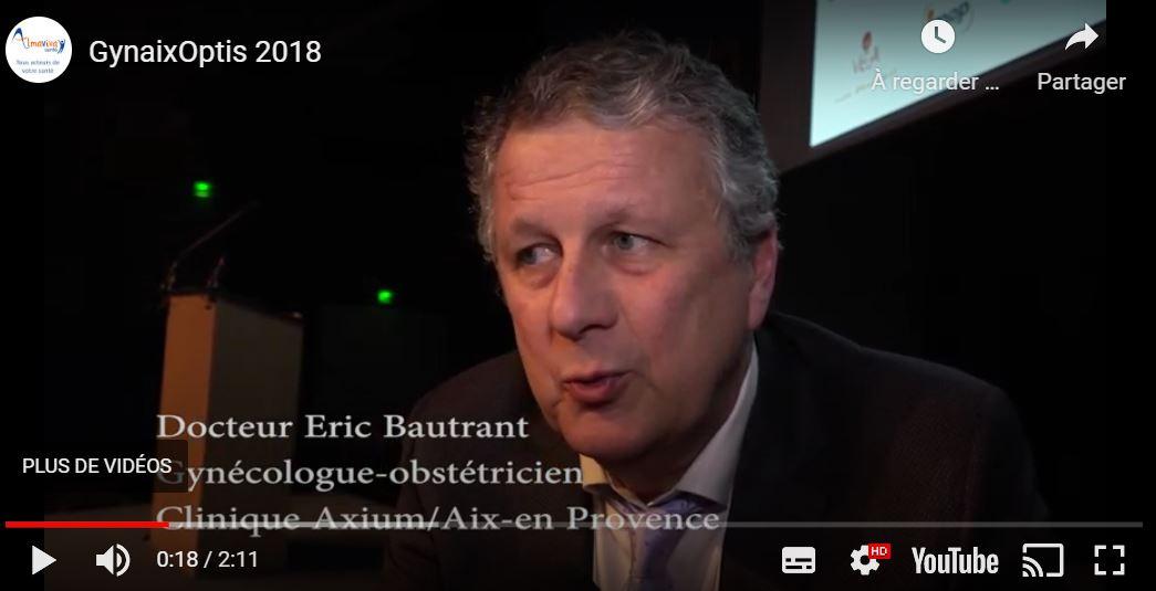 Consulter la vidéo de l'intervention du Dr Bautrant sur la descente d'organe