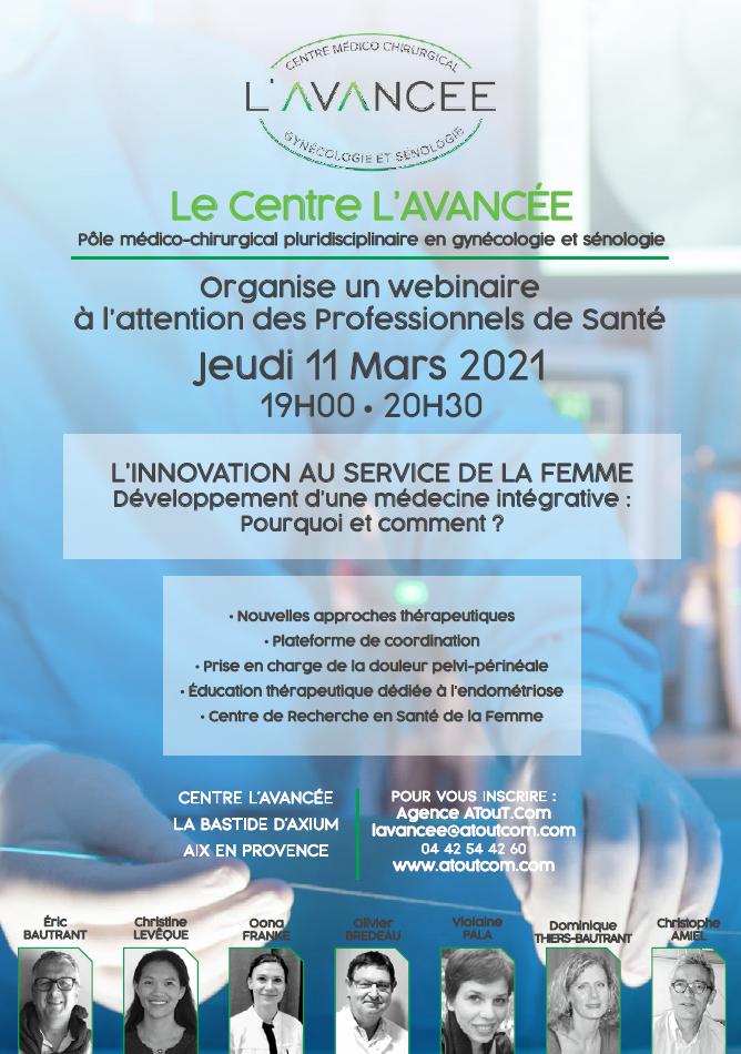 Webinaire sur L'INNOVATION AU SERVICE DE LA FEMME. 1