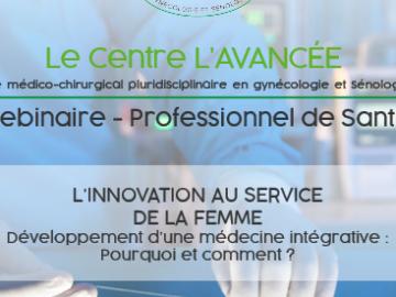 Webinaire sur L'INNOVATION AU SERVICE DE LA FEMME. 3