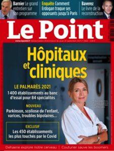7ème meilleure clinique en France pour la chirurgie de l'endométriose 1